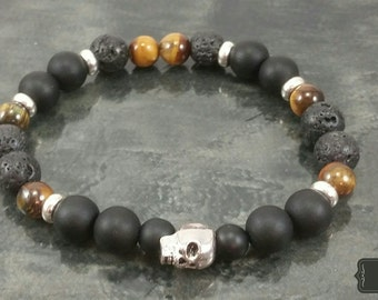 Mala bracelet Male Onyx