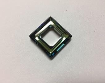 Swarovski® #4439 - 20mm Square - Bermuda Blue