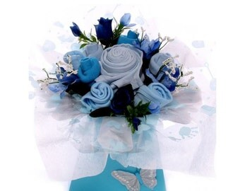 Baby Bouquet Baby Boy Gift.
