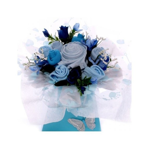 Baby Bouquet Baby Boy Gift.