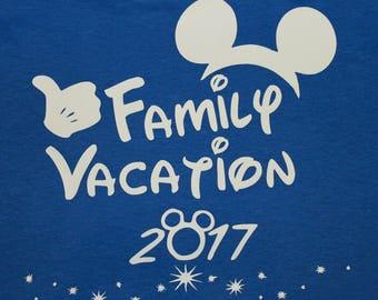 Disney family vacation shirts!