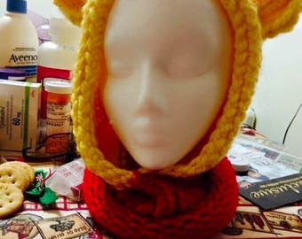 Winnie The Pooh Hooded Cowl