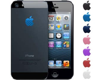 Carbon Fiber Peel N' Stick iPhone Apple Vinyl Decal Stickers. Fits iPhone 4, 4S, 5, 5S, 6, 6S, 7.