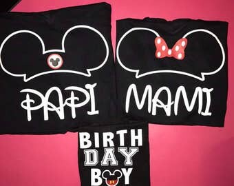 Mickey Mouse shirts Minnie Mouse shirts disney shirts family shirts