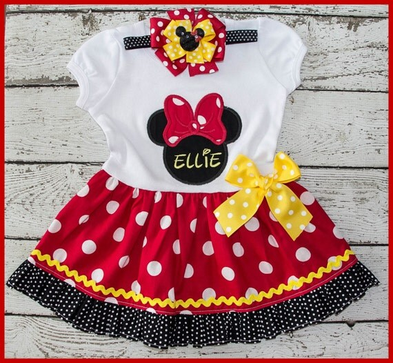Minnie Mouse Personalized dress