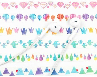 Watercolour Washi Masking Tape Series