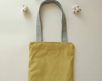 "Bag reversible ""Vintage mustard"""