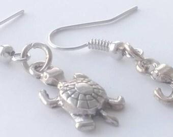 Renetta's Sibling turtle Earrings