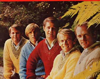 The Beach Boys Song Hits Folio Number 2 Song Book 1965