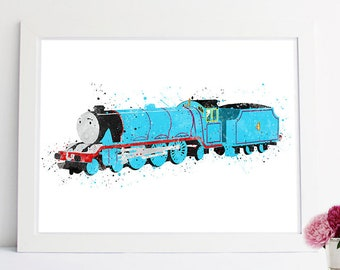 Gordon the big express Engine, Thomas Train printables, thomas and friends, Misty Island Rescue, Henry the tank engine, james engine, gordan