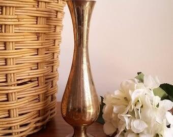 Vintage Indian Copper Vase