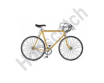 Bicycle - Machine Embroidery Design