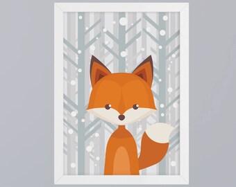 Fox - unframed art print