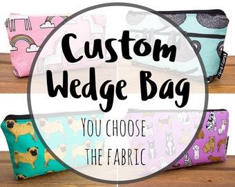 Custom Wedge Bag
