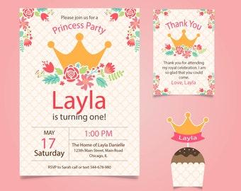 Birthday, girl, cute, invitation