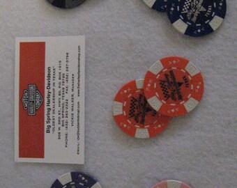 Poker Chips -  Big Spring, Texas