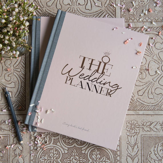 Wedding Planner Gifts: Wedding Planner Book Rose Gold Pink Perfect Gift For Brides
