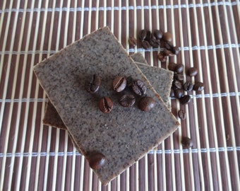 Coffee Exfoliation Goat Milk Soap, Natural Handmade Soap, Coffee Soap, All Natural Bar Soap, Shea Butter Soap, Exfoliating, Cellulite Soap