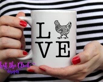 Chicken LOVE - Ceramic Mug
