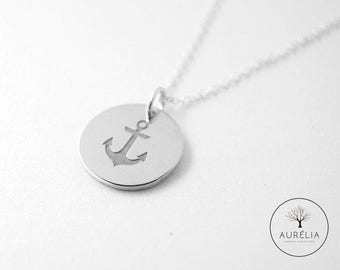 Anchor request engraved friendship chain