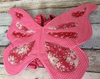 Fabric Fairy Wings 2-7yrs stiff & safe