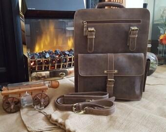 Brown Leather Messenger Bag Laptop bag Bags For men Shoulder bag men Gifts for men Handmade laptop bag Cross-body Bag leather men bag