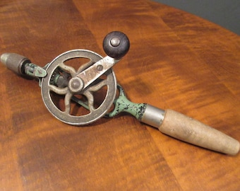 Goodell Pratt hand drill, patented 1895