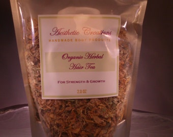 Organic Herbal Hair Tea