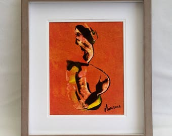 Modern abstract oil paintings Abstract Art Original acrylic paper