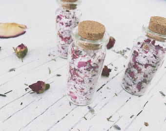 Smelling Salts Aromatherapy [ Anti Anxiety smelling Salt ] Roses /Botanical-Witchcraft-Wicca-Pagan-Spells-stress relief-metaphysical-occult