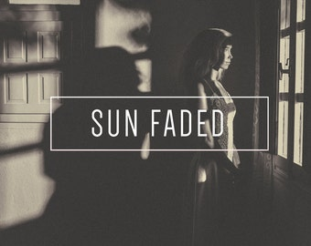 Sun Faded BW Indie Muse Collection 3 Presets  4 Tool Presets 9 LR Brushes Lightroom Presets for Professional Results by LouMarksPhoto