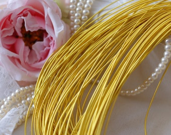 Gold Circular Purl- Metalic Wire-Gold Wire- Cirkular wire-Pearl Purl