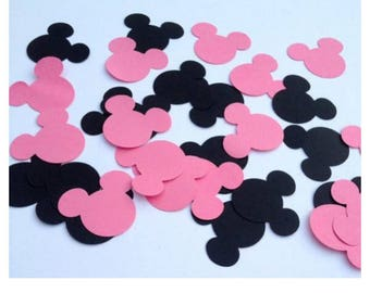Minnie Mouse party confetti