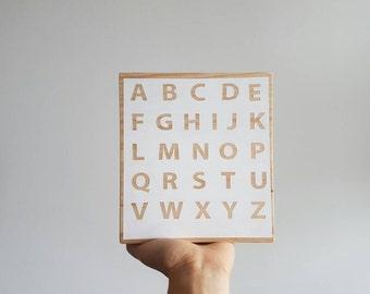 Shelfabet | Wooden Blocks | Alphabet Blocks | Room Decor | Nursery decor