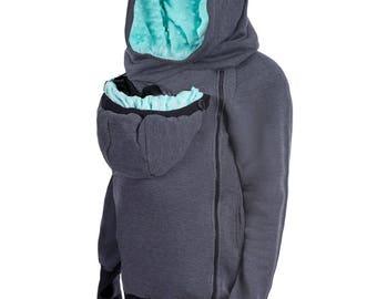 Babywearing sweatshirt / hoodie  GREYSE free shipping