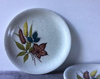 "Vintage Wood & Sons ""Autumn"" Side Plates"