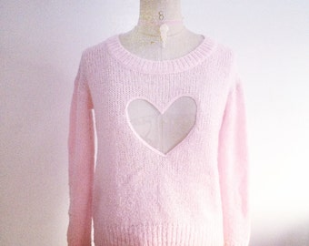 Second Life - See Thru My Heart Sweater