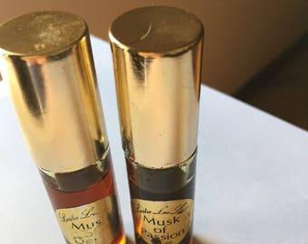 Vintage Leslie Musk oils