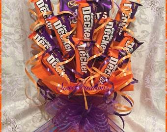 Double decker Cadburys chocolate bouquet Mother's Day