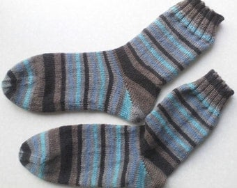 Knitted socks size 42/43