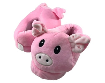 Customized Kids Pig Slippers