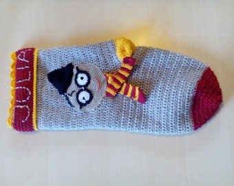 Harry potter christmas stocking personalized gryffindor
