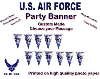 US Air Force Party Banner