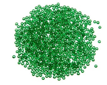 Toho® Japanese Glass Seed Beads - Green Transparent - 11/0 2.2mm