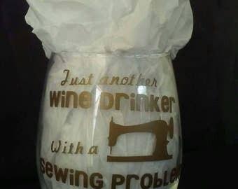 Wine Drinker Sewing Problem