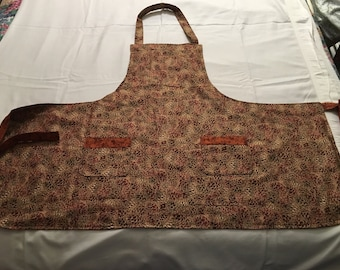 Women's lined Fall apron