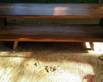 Shelf Elm solid wood sofa table