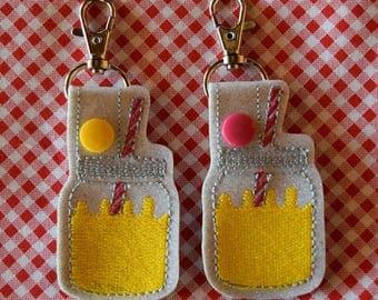 Lemonade Key Chain/ Snap Tab