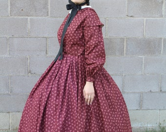 Civil War Day Dress