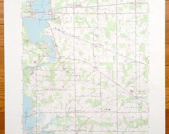 Antique North Canton Ohio 1967 US Geological Survey